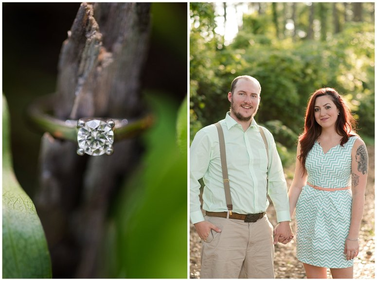 Spring Chesapeake Virginia Engagement Session Locks Park in Great Bridge_0824