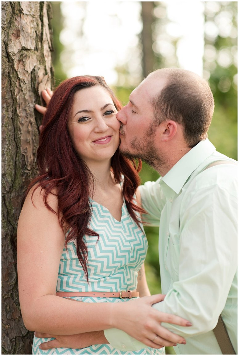 Spring Chesapeake Virginia Engagement Session Locks Park in Great Bridge_0829