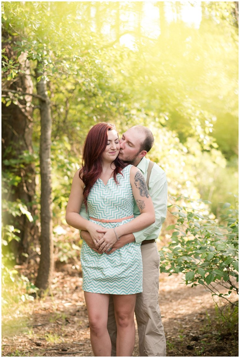 Spring Chesapeake Virginia Engagement Session Locks Park in Great Bridge_0831