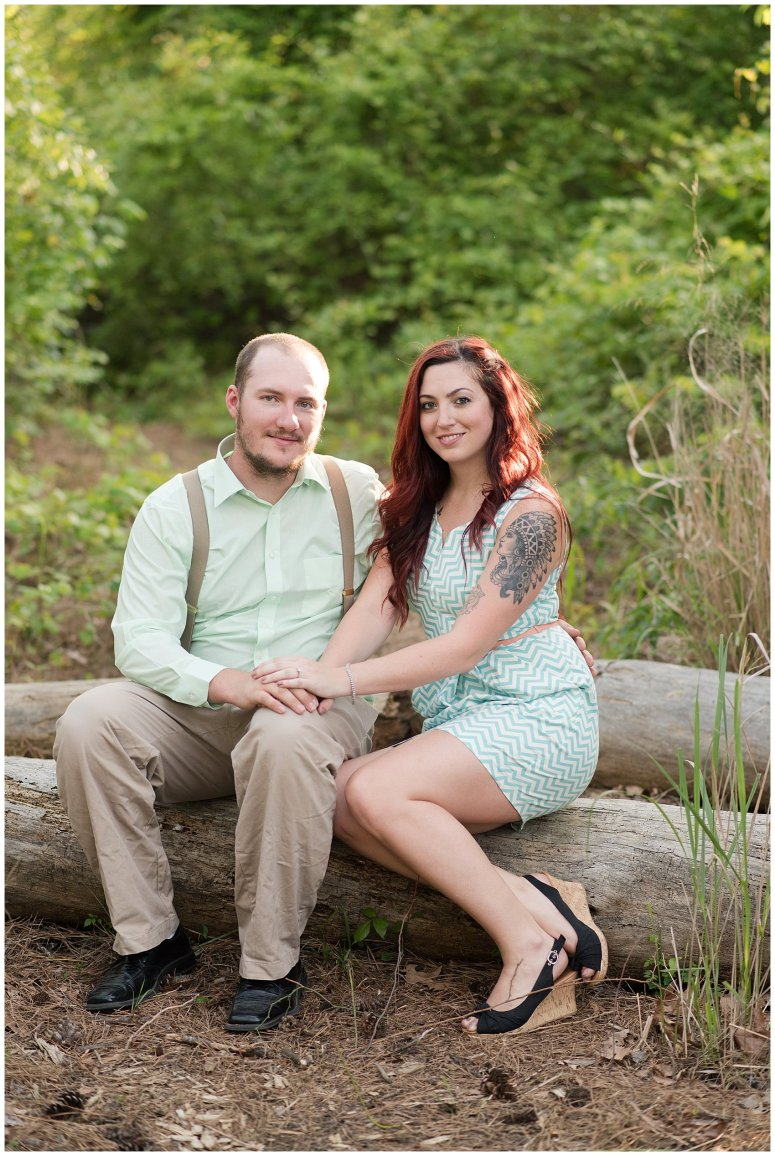 Spring Chesapeake Virginia Engagement Session Locks Park in Great Bridge_0835