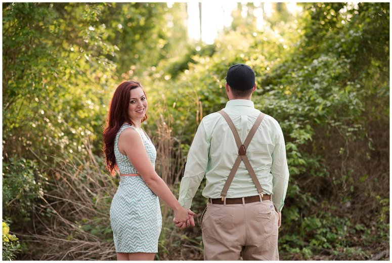 Spring Chesapeake Virginia Engagement Session Locks Park in Great Bridge_0836