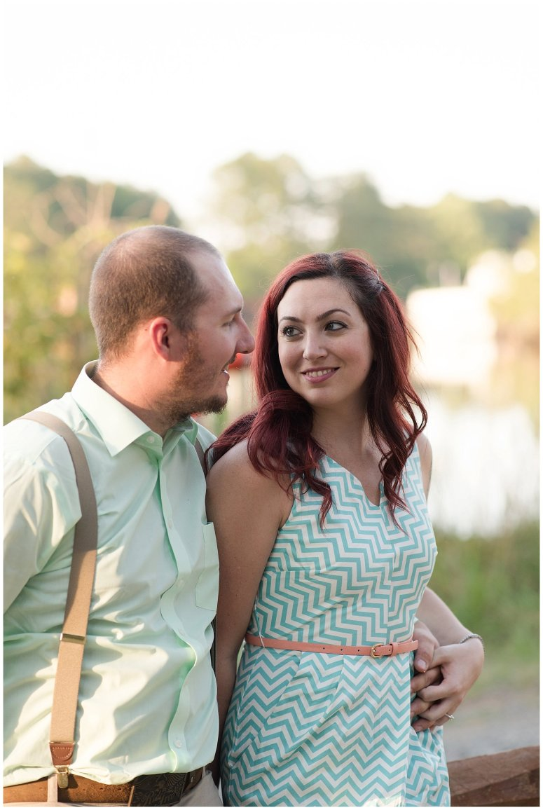 Spring Chesapeake Virginia Engagement Session Locks Park in Great Bridge_0842