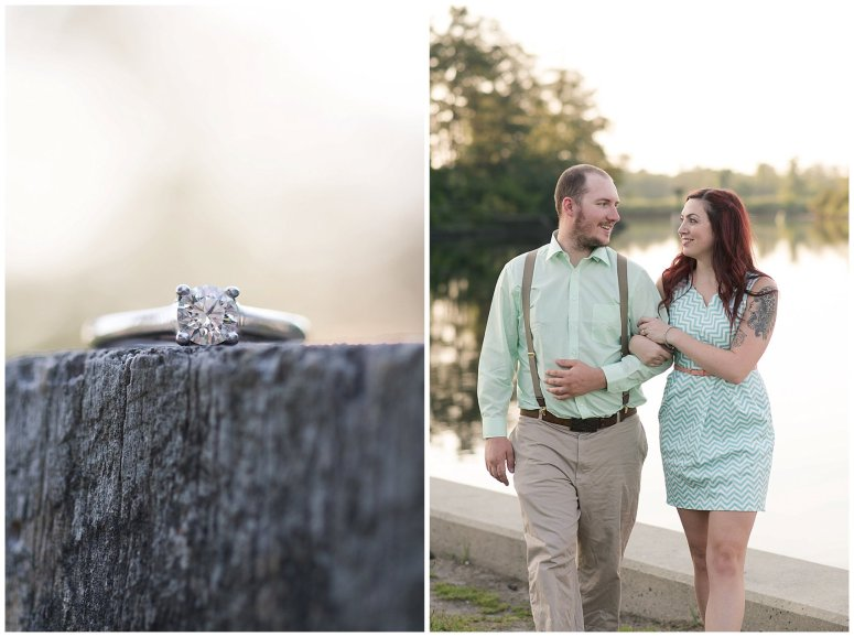 Spring Chesapeake Virginia Engagement Session Locks Park in Great Bridge_0845