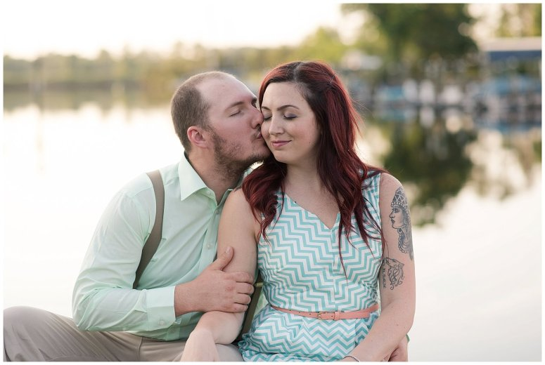 Spring Chesapeake Virginia Engagement Session Locks Park in Great Bridge_0846