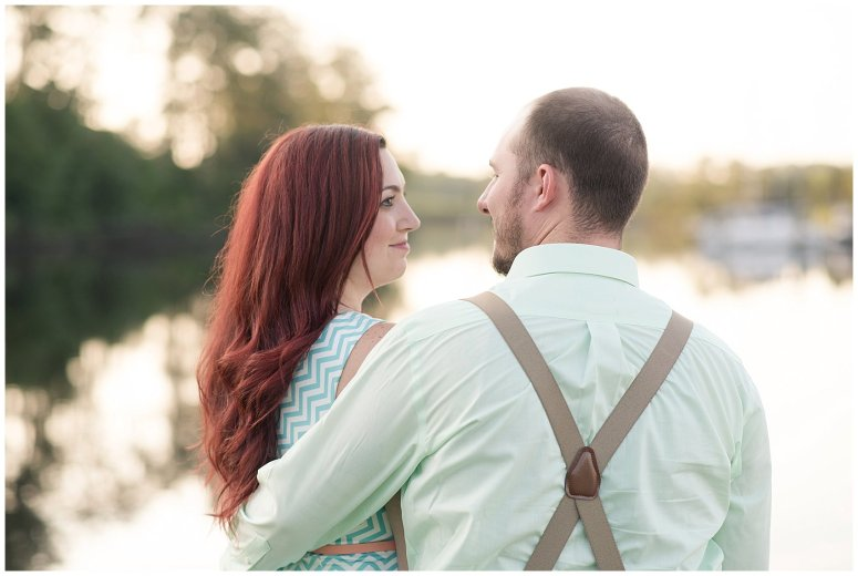Spring Chesapeake Virginia Engagement Session Locks Park in Great Bridge_0848