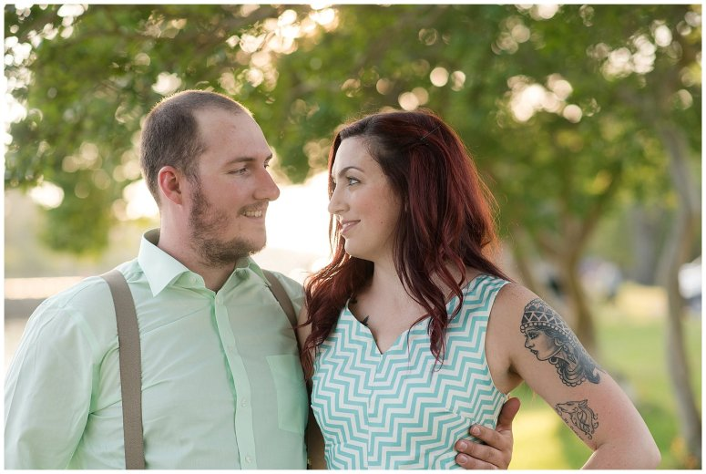 Spring Chesapeake Virginia Engagement Session Locks Park in Great Bridge_0850