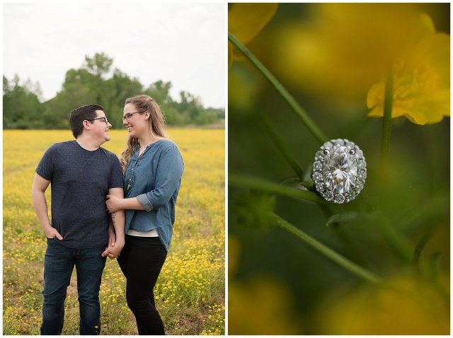 Yellow Field Suffolk Virginia Engagement Session_0610