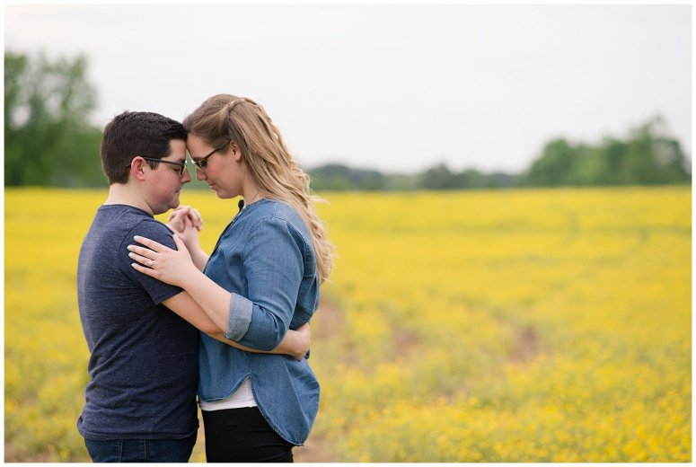 Yellow Field Suffolk Virginia Engagement Session_0615