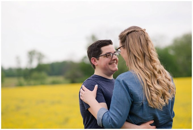 Yellow Field Suffolk Virginia Engagement Session_0616