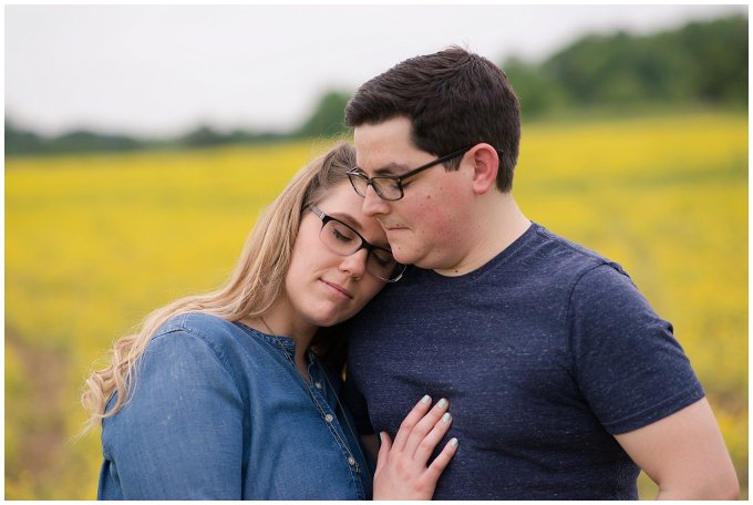 Yellow Field Suffolk Virginia Engagement Session_0617
