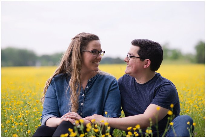 Yellow Field Suffolk Virginia Engagement Session_0619