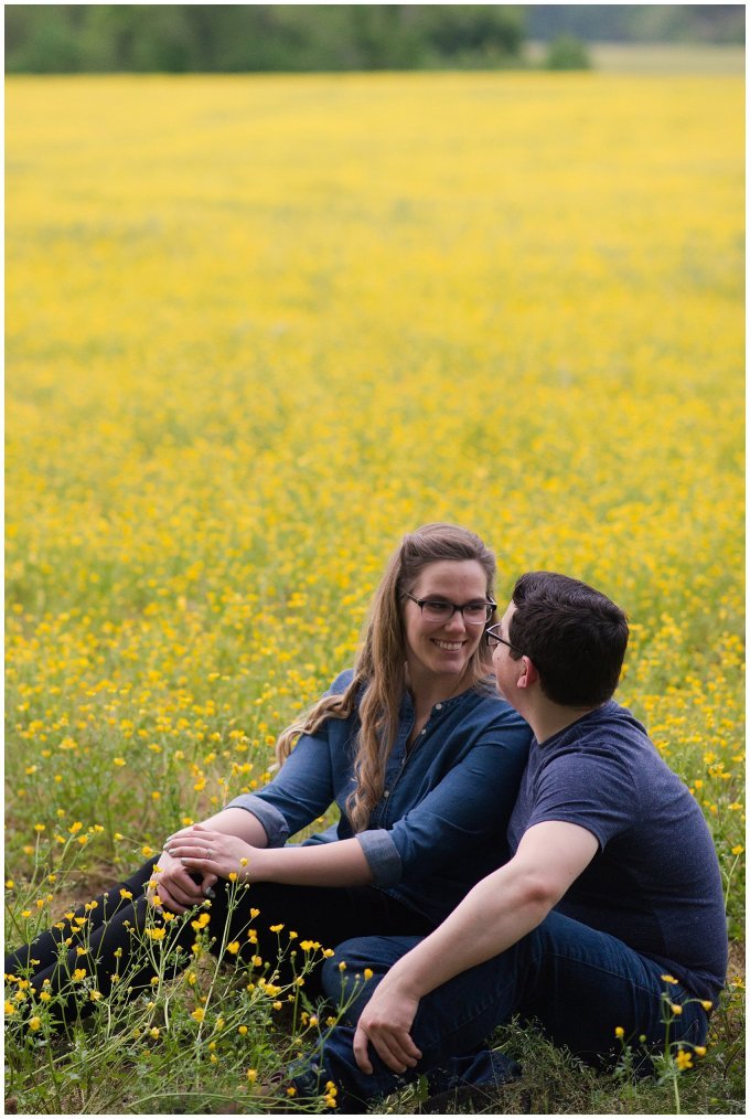 Yellow Field Suffolk Virginia Engagement Session_0621