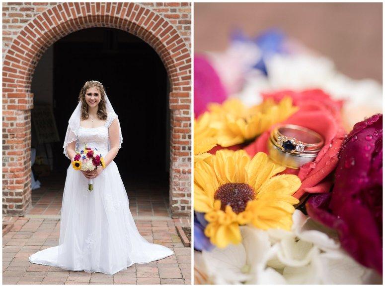 Historic St Lukes Church Smithfield Virginia Wedding Photographers_0920