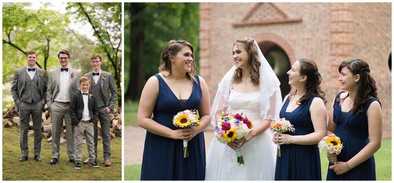 Historic St Lukes Church Smithfield Virginia Wedding Photographers_0932