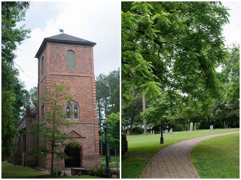 Historic St Lukes Church Smithfield Virginia Wedding Photographers_0937