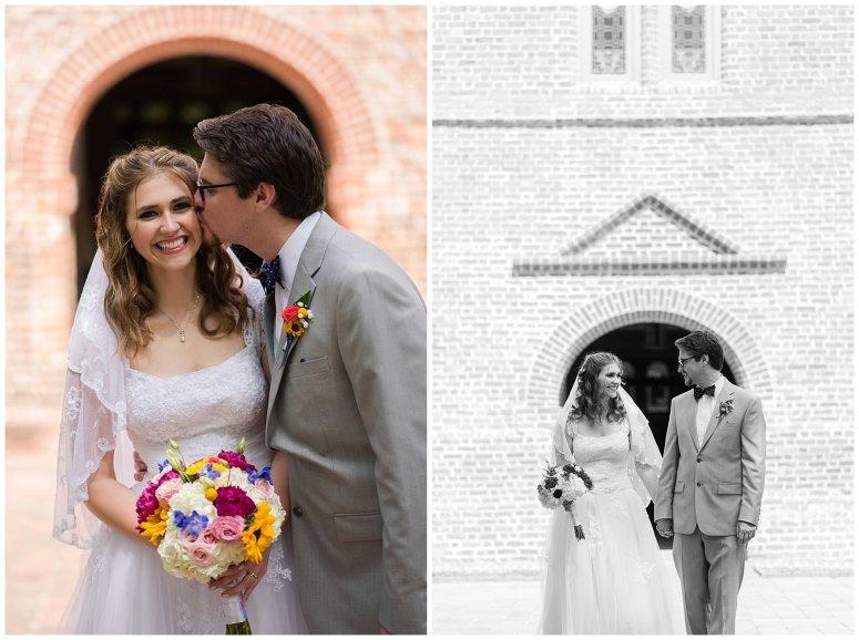 Historic St Lukes Church Smithfield Virginia Wedding Photographers_0963
