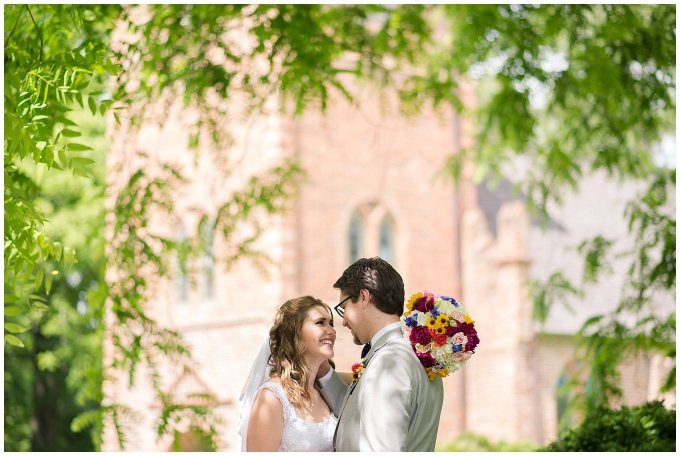 Historic St Lukes Church Smithfield Virginia Wedding Photographers_0964