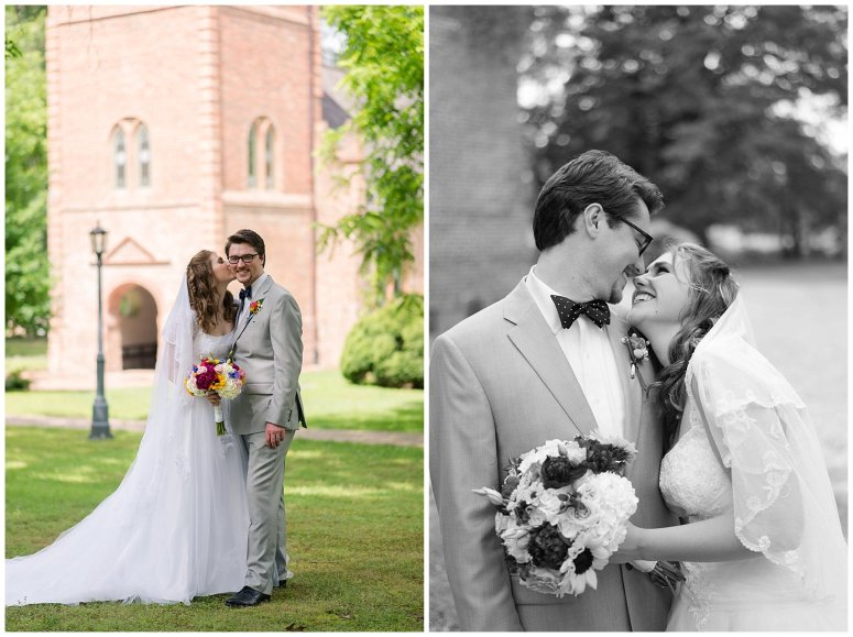 Historic St Lukes Church Smithfield Virginia Wedding Photographers_0965