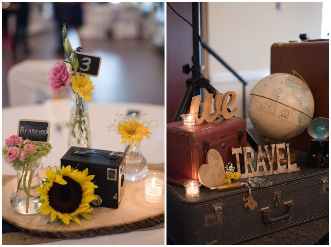 Travel Themed Smithfield Center Wedding Reception Virginia Wedding Photographers0976
