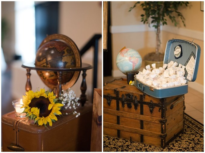 Travel Themed Smithfield Center Wedding Reception Virginia Wedding Photographers0977