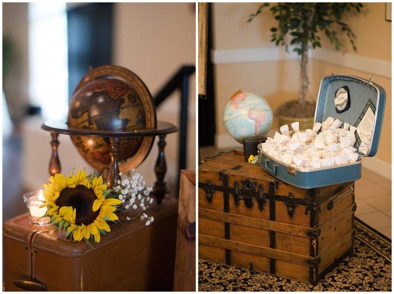 Travel Themed Smithfield Center Wedding Reception Virginia Wedding Photographers0977