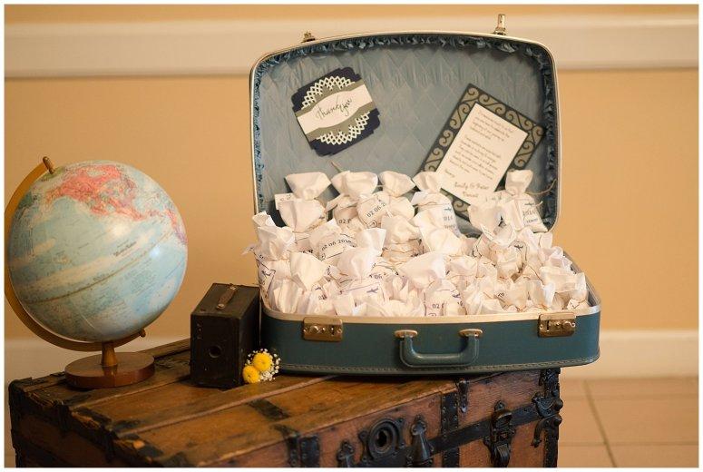 Travel Themed Smithfield Center Wedding Reception Virginia Wedding Photographers1005