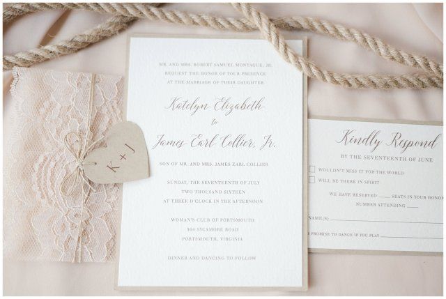 Beautiful Neutral Cream Wedding Womens Club of Portsmouth Virginia Wedding Photographers_1486