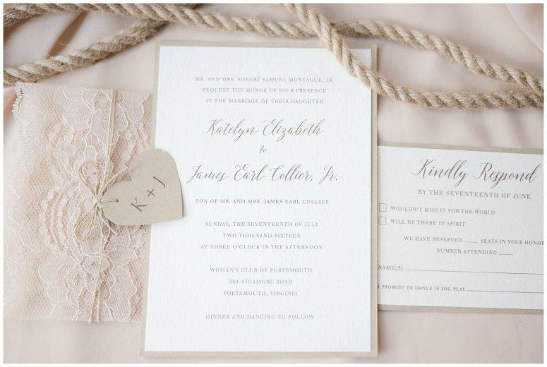 Beautiful Neutral Cream Wedding Womens Club of Portsmouth Virginia Wedding Photographers_1486