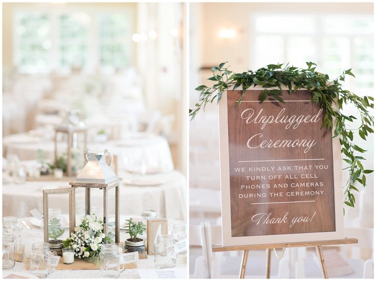 Beautiful Neutral Cream Wedding Womens Club of Portsmouth Virginia Wedding Photographers_1490
