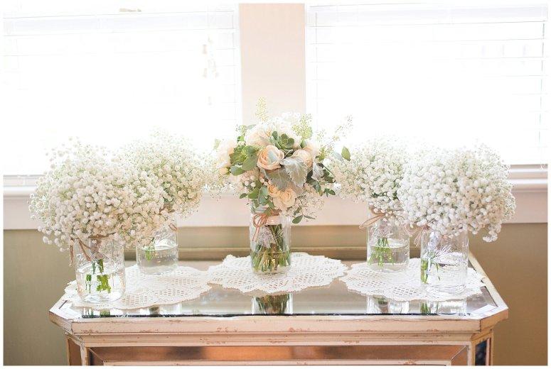 Beautiful Neutral Cream Wedding Womens Club of Portsmouth Virginia Wedding Photographers_1515