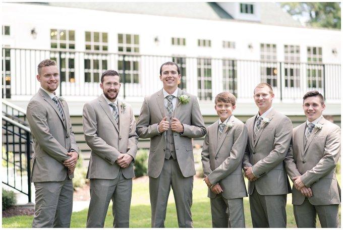Beautiful Neutral Cream Wedding Womens Club of Portsmouth Virginia Wedding Photographers_1542