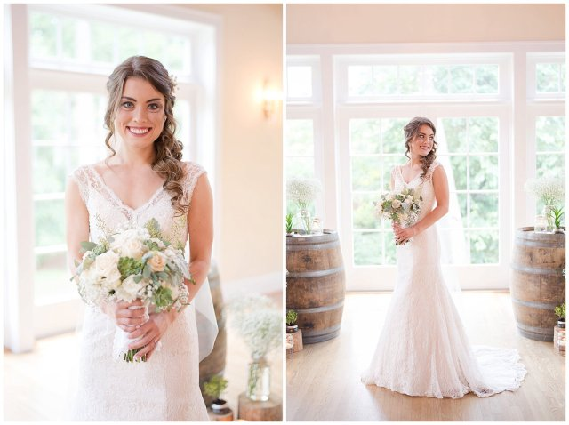 Beautiful Neutral Cream Wedding Womens Club of Portsmouth Virginia Wedding Photographers_1546