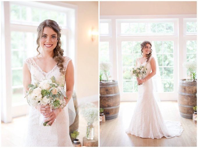 Beautiful Neutral Cream Wedding Womens Club of Portsmouth Virginia Wedding Photographers_1546