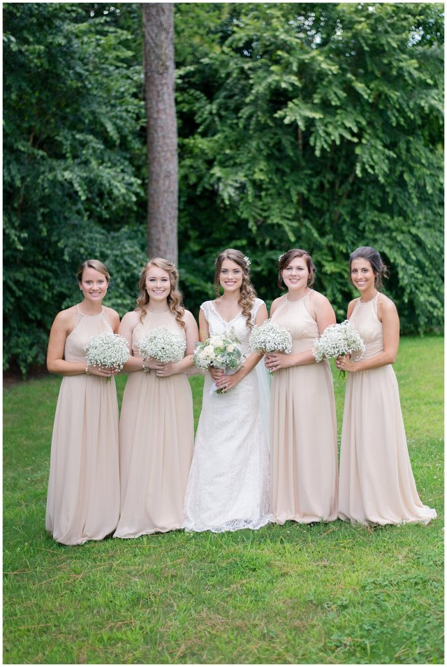 Beautiful Neutral Cream Wedding Womens Club of Portsmouth Virginia Wedding Photographers_1551