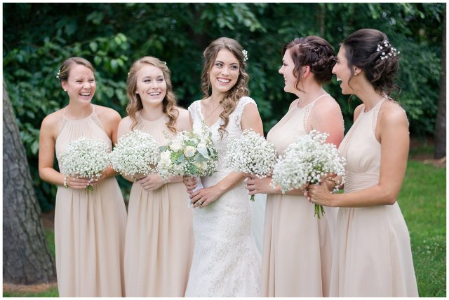 Beautiful Neutral Cream Wedding Womens Club of Portsmouth Virginia Wedding Photographers_1552