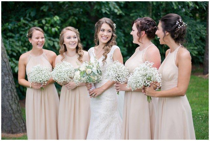 Beautiful Neutral Cream Wedding Womens Club of Portsmouth Virginia Wedding Photographers_1552