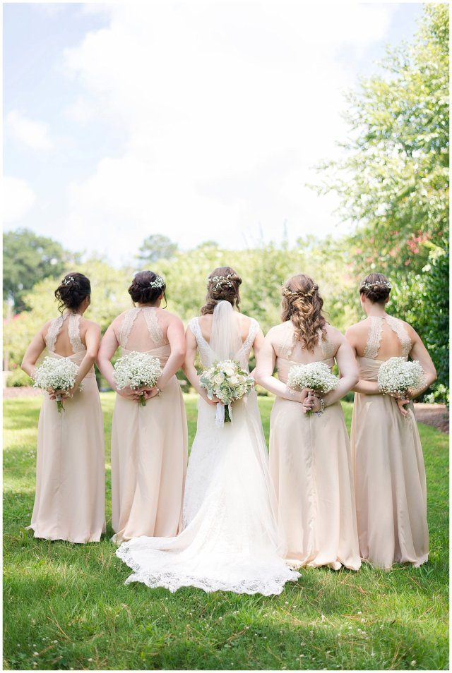 Beautiful Neutral Cream Wedding Womens Club of Portsmouth Virginia Wedding Photographers_1553