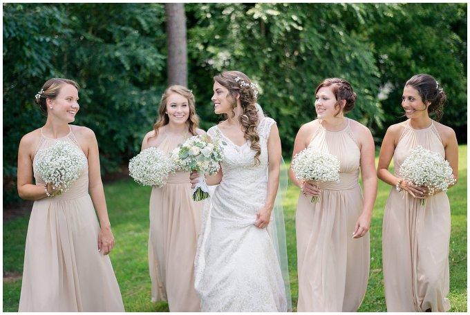 Beautiful Neutral Cream Wedding Womens Club of Portsmouth Virginia Wedding Photographers_1554