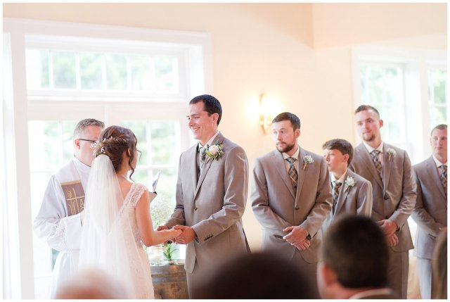 Beautiful Neutral Cream Wedding Womens Club of Portsmouth Virginia Wedding Photographers_1564