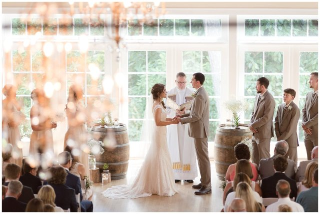 Beautiful Neutral Cream Wedding Womens Club of Portsmouth Virginia Wedding Photographers_1565
