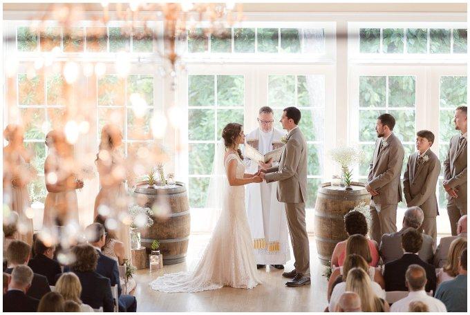Beautiful Neutral Cream Wedding Womens Club of Portsmouth Virginia Wedding Photographers_1565