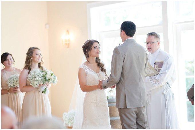 Beautiful Neutral Cream Wedding Womens Club of Portsmouth Virginia Wedding Photographers_1566