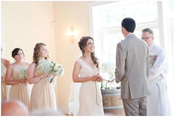 Beautiful Neutral Cream Wedding Womens Club of Portsmouth Virginia Wedding Photographers_1568