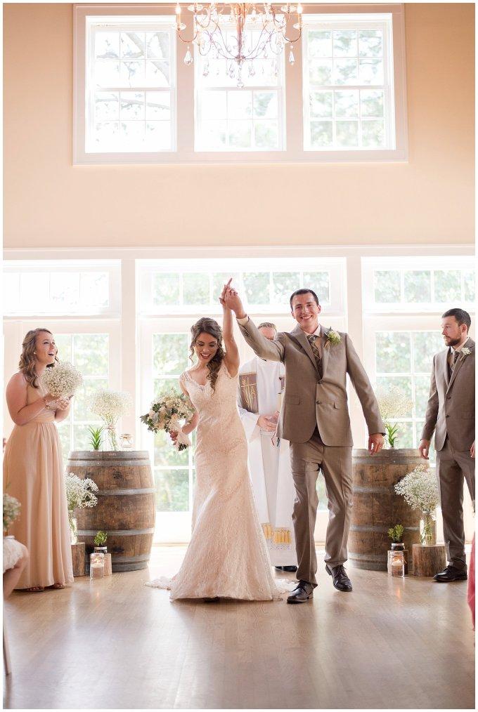 Beautiful Neutral Cream Wedding Womens Club of Portsmouth Virginia Wedding Photographers_1571