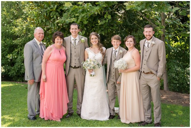 Beautiful Neutral Cream Wedding Womens Club of Portsmouth Virginia Wedding Photographers_1573