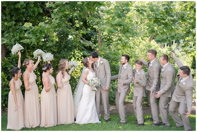 Beautiful Neutral Cream Wedding Womens Club of Portsmouth Virginia Wedding Photographers_1577