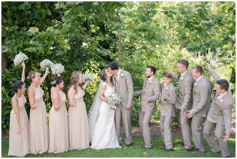 Beautiful Neutral Cream Wedding Womens Club of Portsmouth Virginia Wedding Photographers_1577