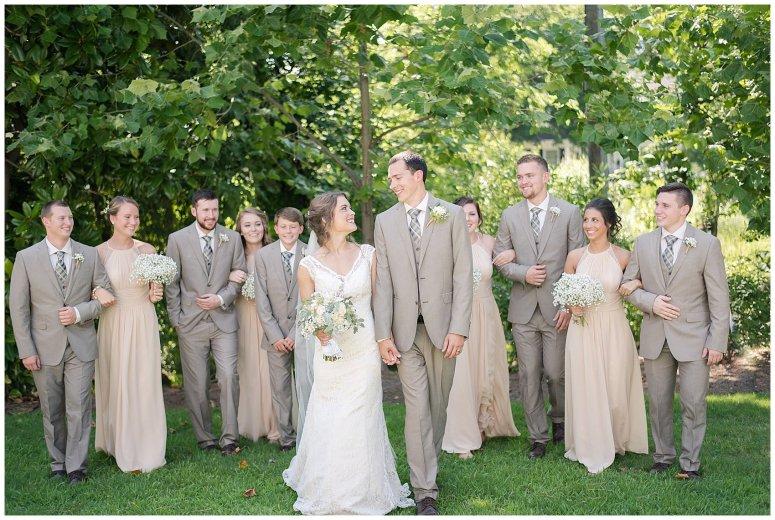 Beautiful Neutral Cream Wedding Womens Club of Portsmouth Virginia Wedding Photographers_1579