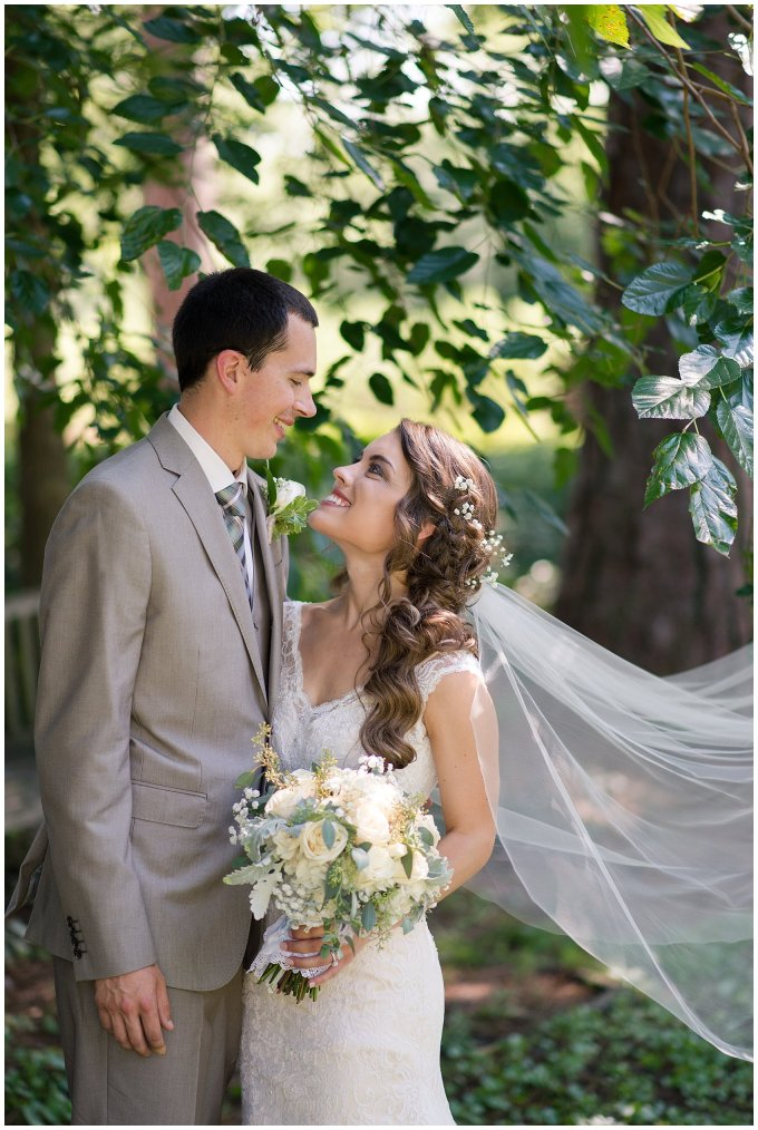 Beautiful Neutral Cream Wedding Womens Club of Portsmouth Virginia Wedding Photographers_1583