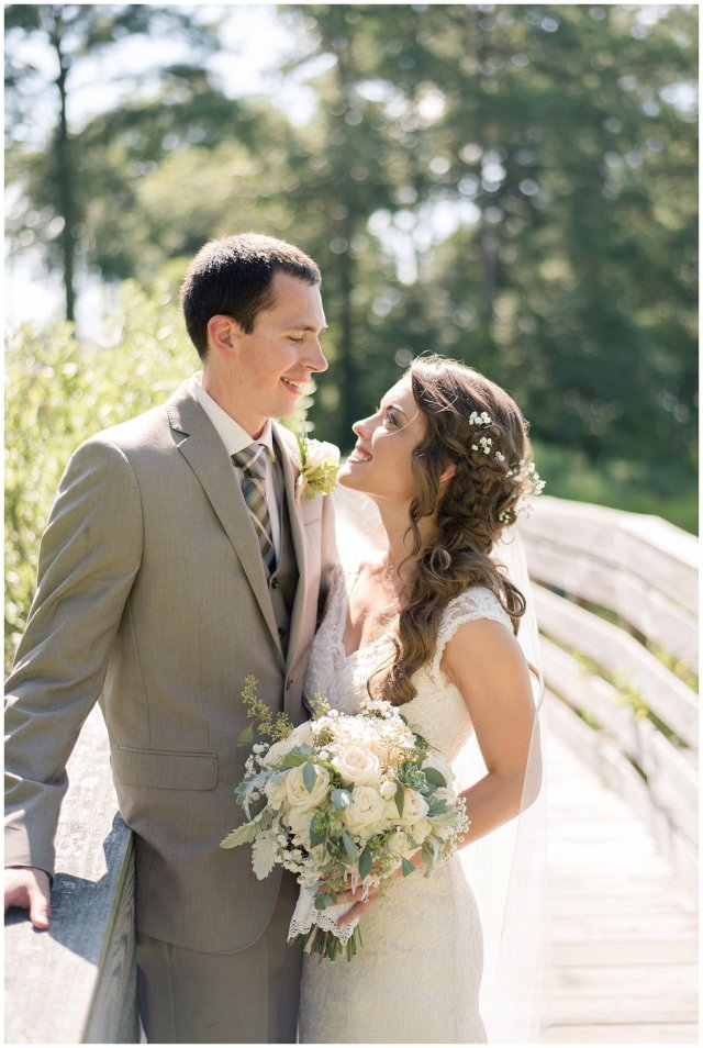Beautiful Neutral Cream Wedding Womens Club of Portsmouth Virginia Wedding Photographers_1588
